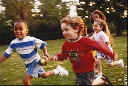 sharron kids running